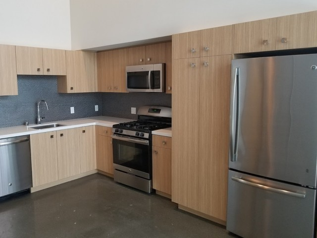 Concentric design package at L Seven Apartments in San Francisco CA