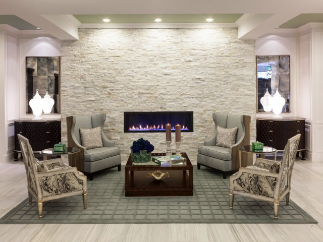 Reading Lounge- Cantabria at Turtle Creek in Dallas, TX