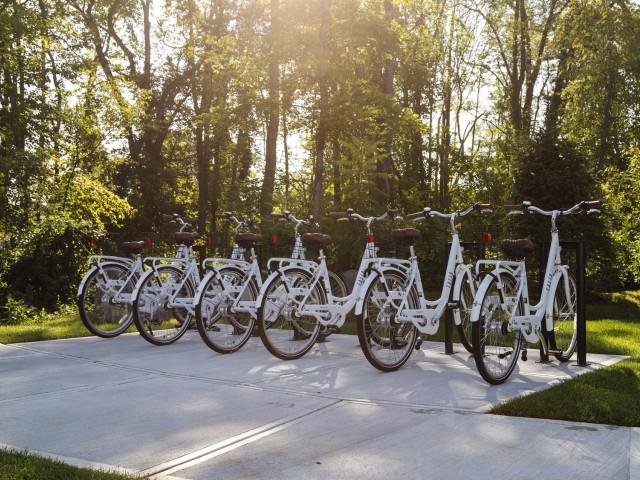 Image of Bike share program for Talia Apartments