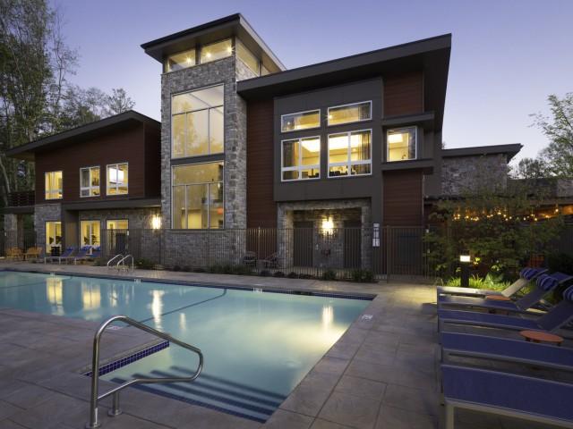 Image of Aqua lounge: heated lap pool & spa for Talia Apartments