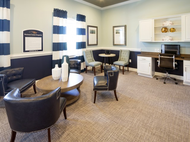 Business Center at River Forest Apartments in Chester, VA