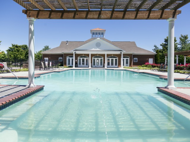 Swimming Pool at River Forest Apartments in Chester, VA