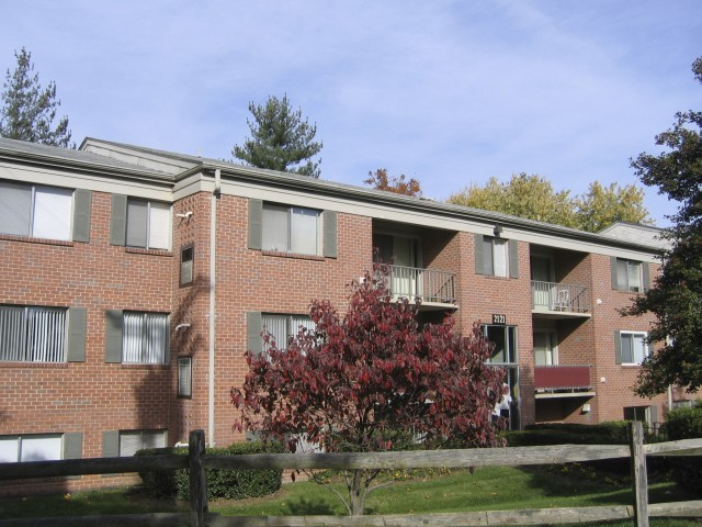 Oakfield Apartments Wheaton MD - Exterior