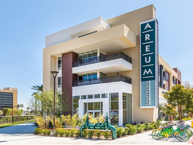 Retail Space at Areum Apartments in Monrovia CA