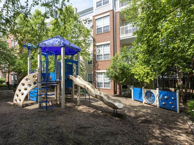 Playground at The Montgomery Apartments in Bethesda, MD