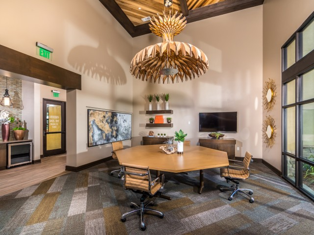 Work space at Andorra Apartments in Camarillo, CA