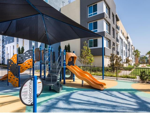 Playground at RIZE Irvine apartments in Irvine, CA