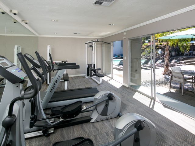 Fitness Center at Bayside Apartments in Pinole, CA