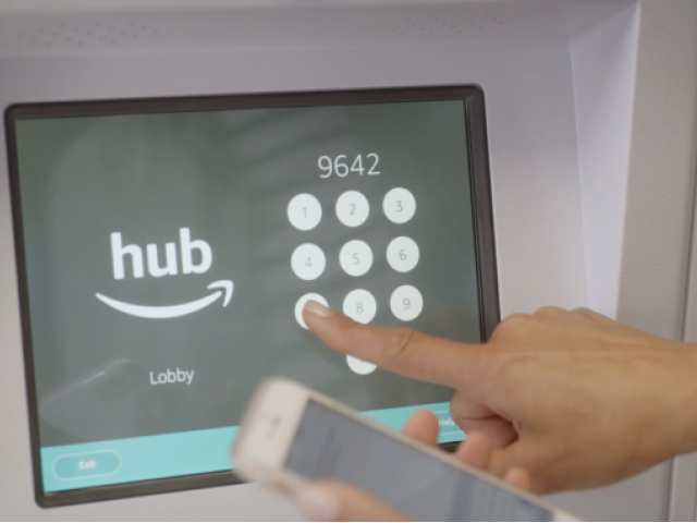 Image of Hub by Amazon: package lockers with 24/7 access to packages for Summer Ridge Apartments