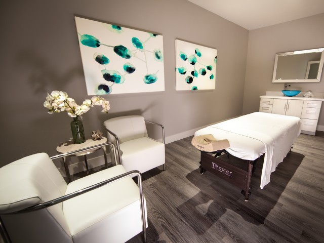 Massage room at South Beach apartments in Las Vegas, NV