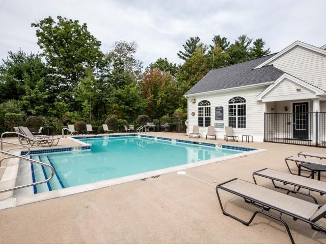Image of Seasonally heated pool for Heritage on the Merrimack