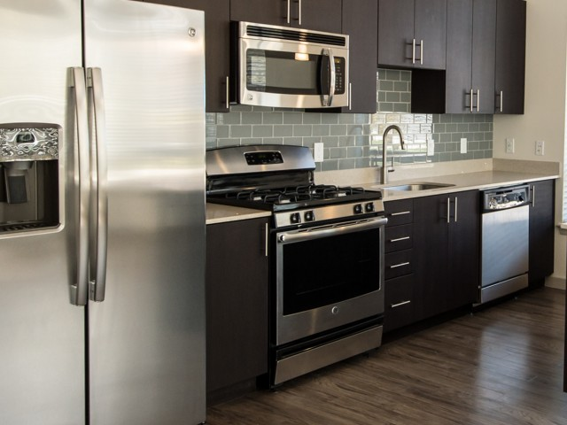 Image of Sleek silver appliances for 7001 Arlington at Bethesda Apartments