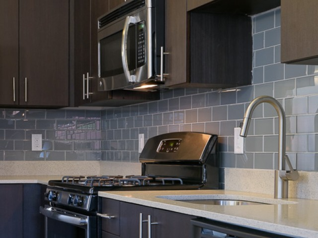 Image of Designer tile backsplash for 7001 Arlington at Bethesda Apartments