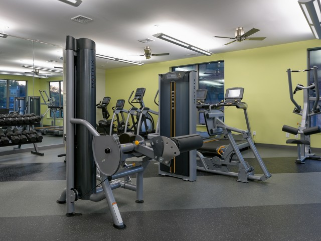 Image of 24-hour, state-of-the-art fitness center with Matrix equipment for 7001 Arlington at Bethesda Apartments