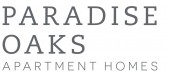 Logo for Paradise Oaks Apartments in Austin TX