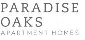 Logo for Paradise Oaks Apartments in Austin TX