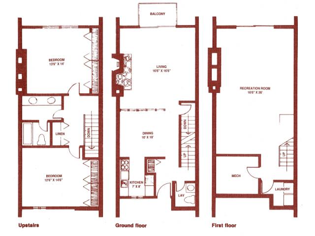 2 Bed 1 5 Bath Apartment In Grand Rapids Mi Regency