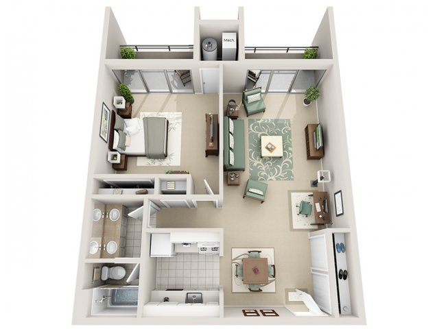 1 Bed 1 Bath Apartment In Grand Rapids Mi Regency Park Apartments