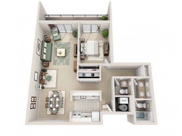 1 Bed 15 Bath Apartment In Grand Rapids Mi Regency Park Apartments