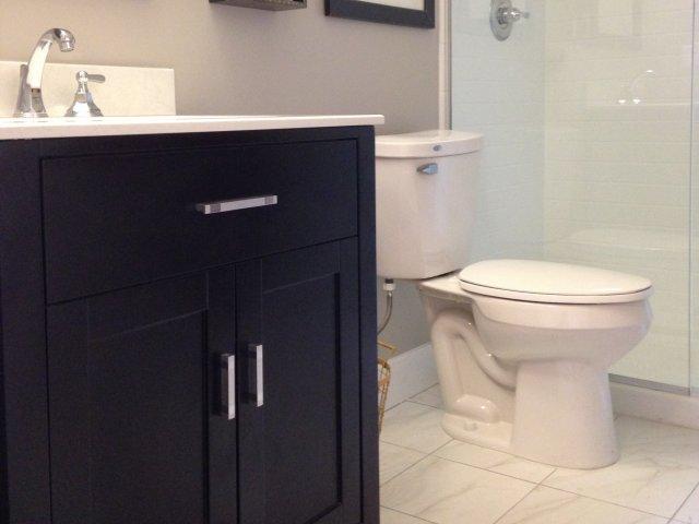 Image of Porcelain Tile Bathroom Flooring for The Albert