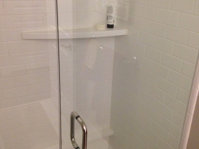 Image of Classic Subway Tile Shower Surround for The Albert