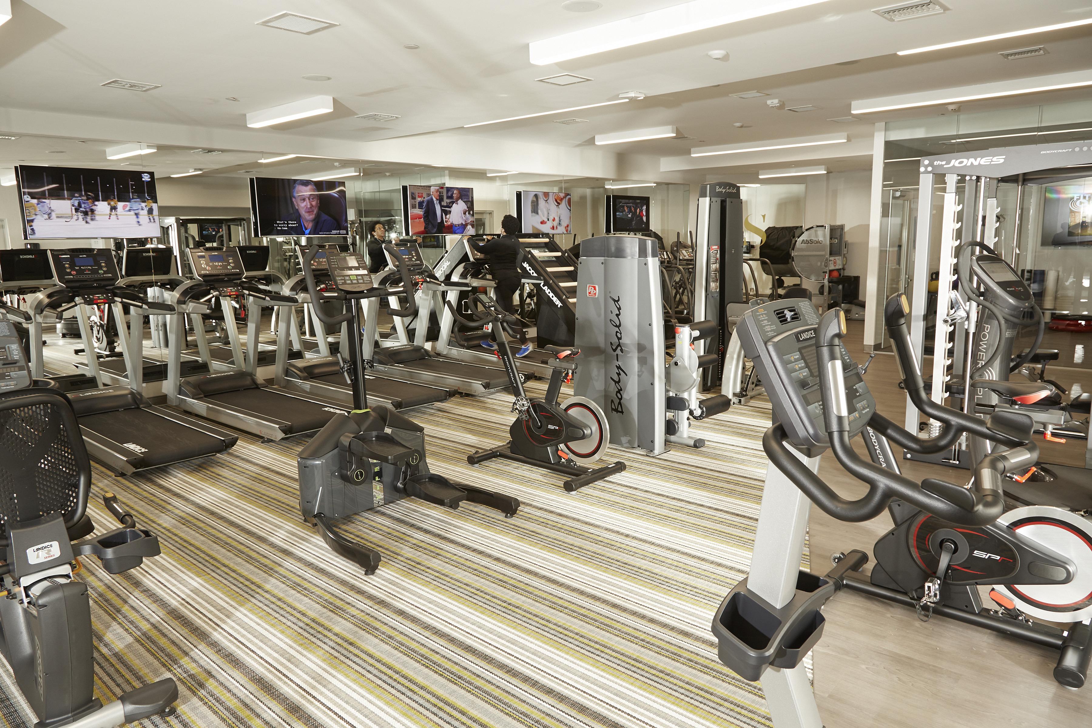 247 Life Fitness Gym and Yoga Room