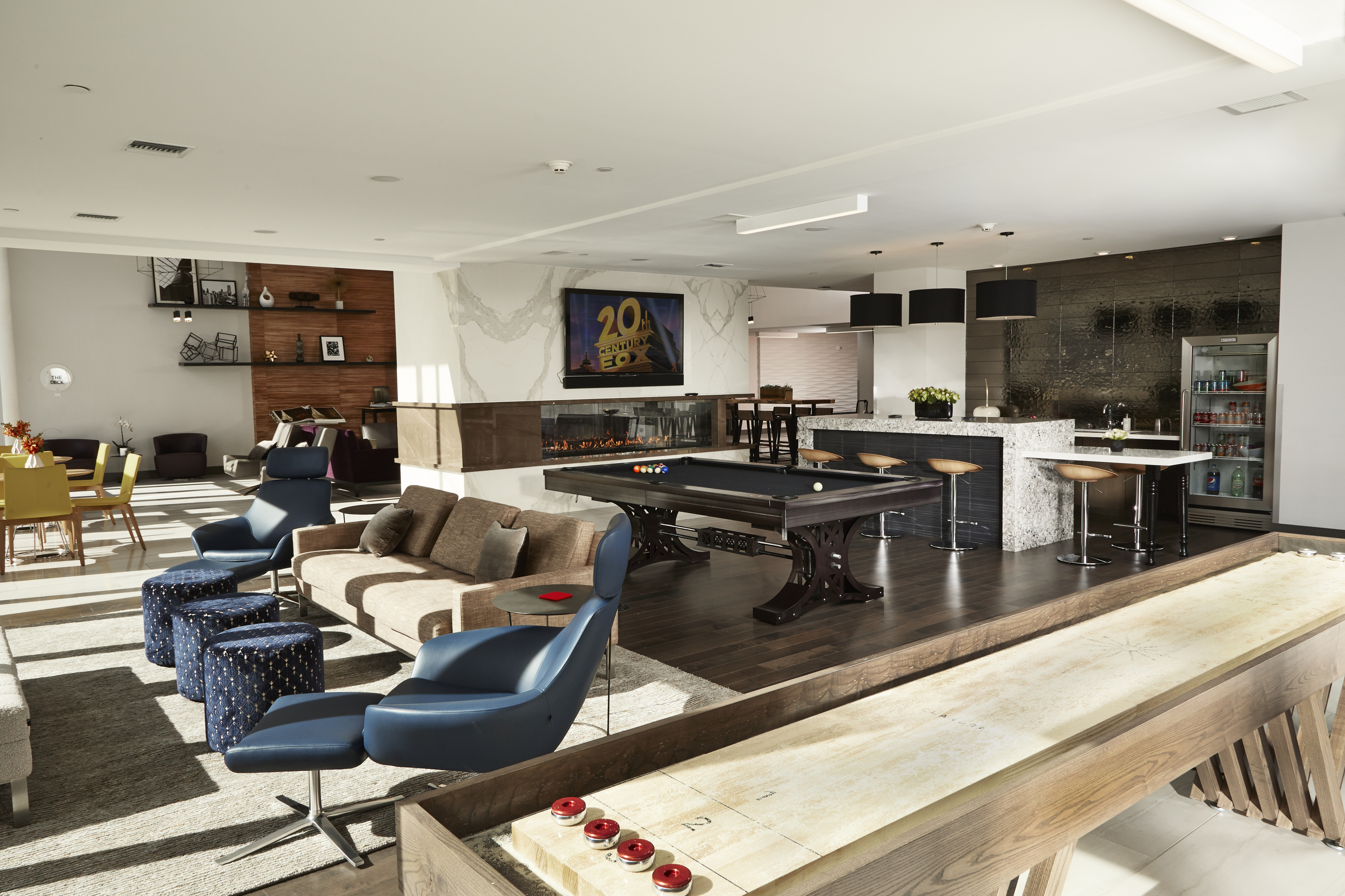 Resident Kitchen and Entertainment Loung