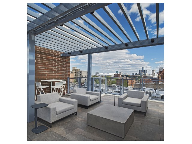 Image of Rooftop Terrace with fantastic city views for The Scott at Brush Park