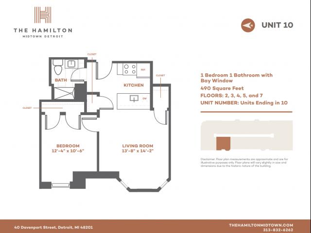 1 BD Bay - Floorplan 10