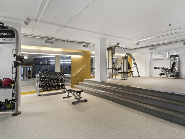 Image of State-of-the-Art Fitness Center for Chestnut Place