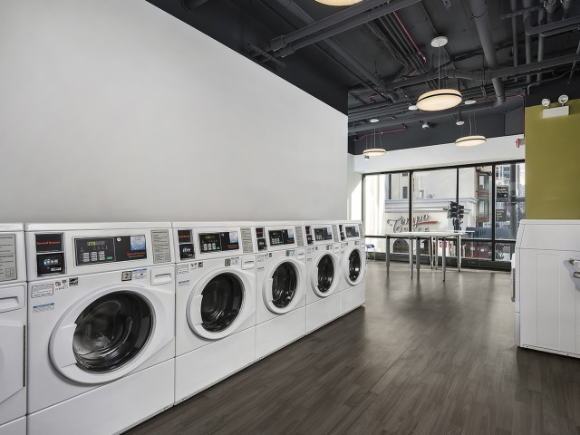 Image of Updated Card Operated Laundry Facilities for Chestnut Place
