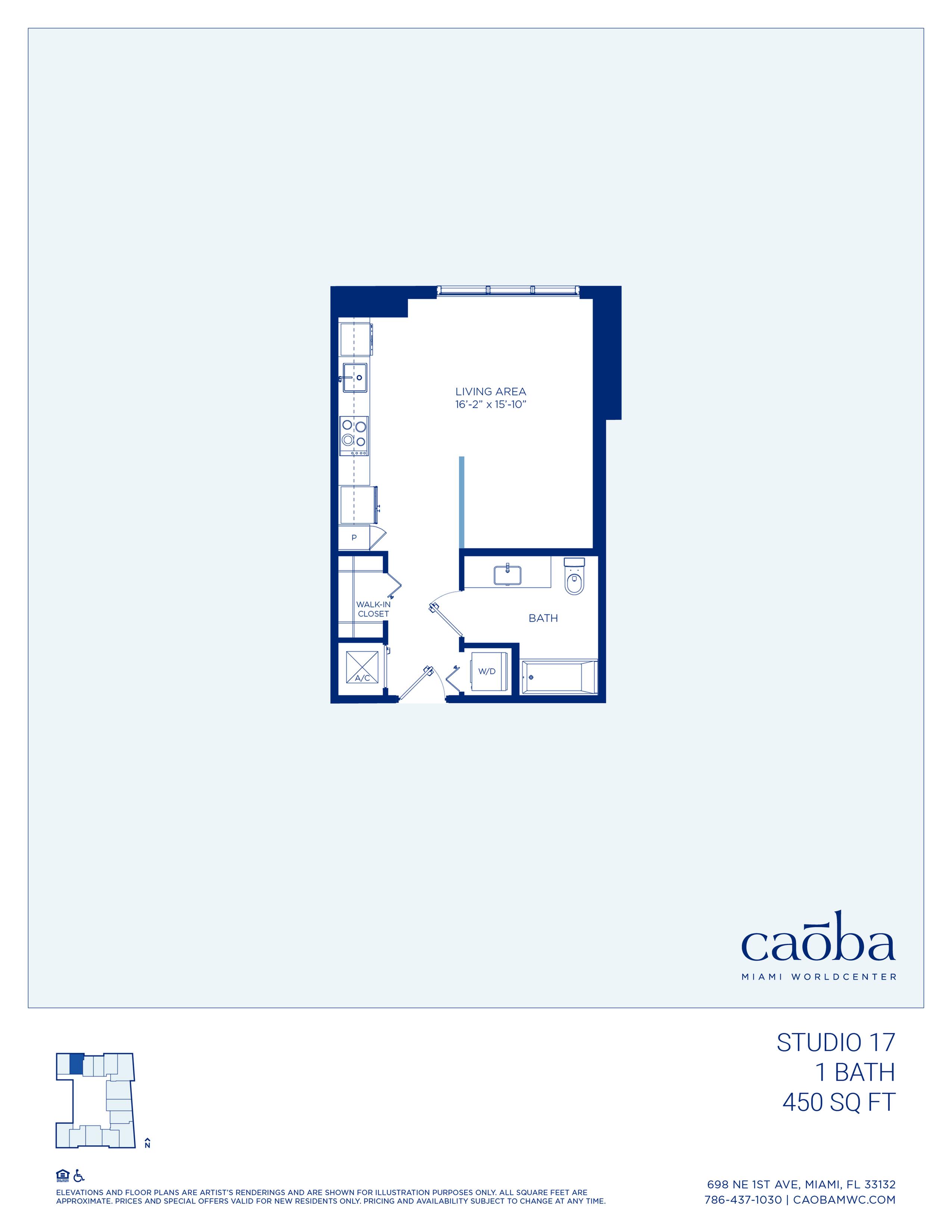 Miami Caoba Floorplan - S-17