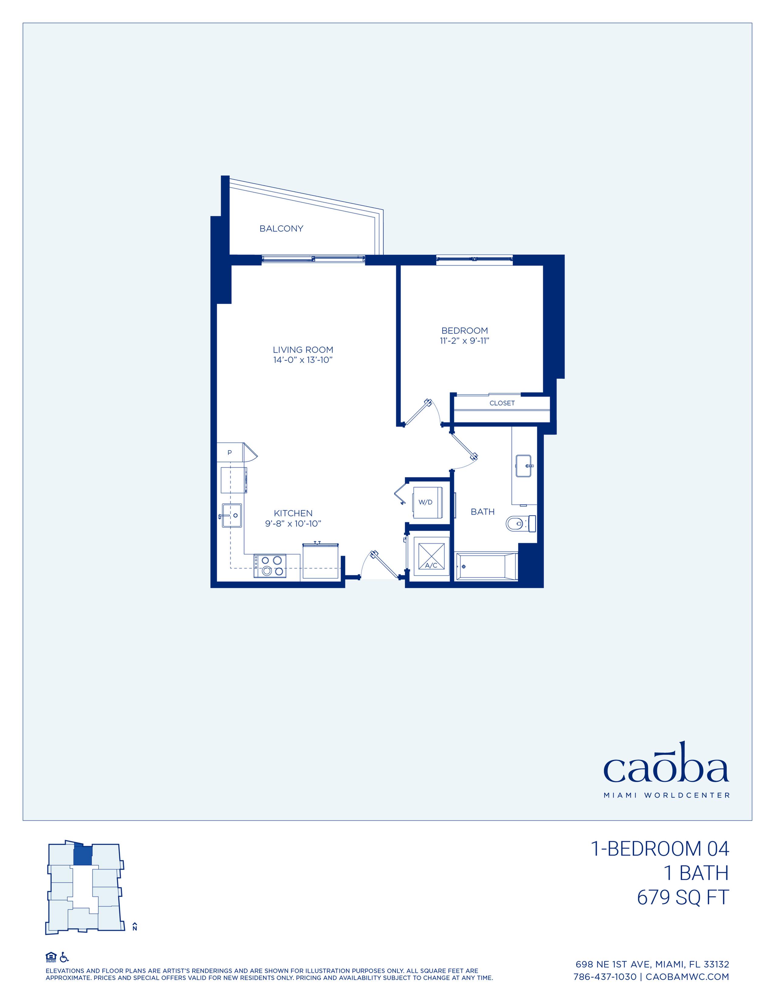 Miami Caoba Floorplan - 1-03