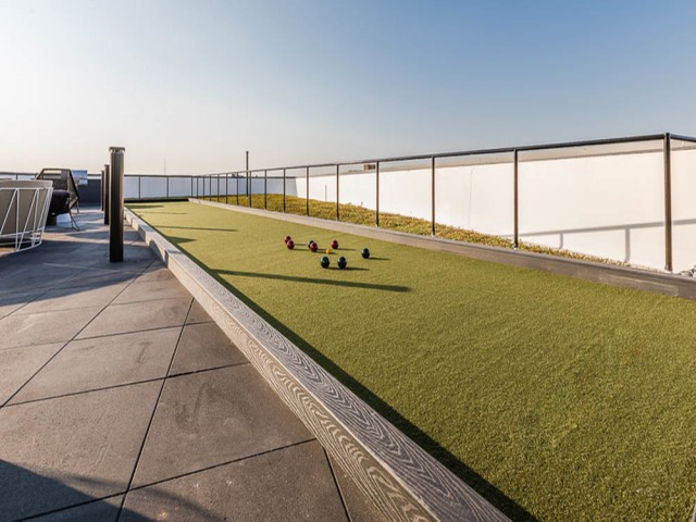 Rooftop Terrace with Bocce Ball