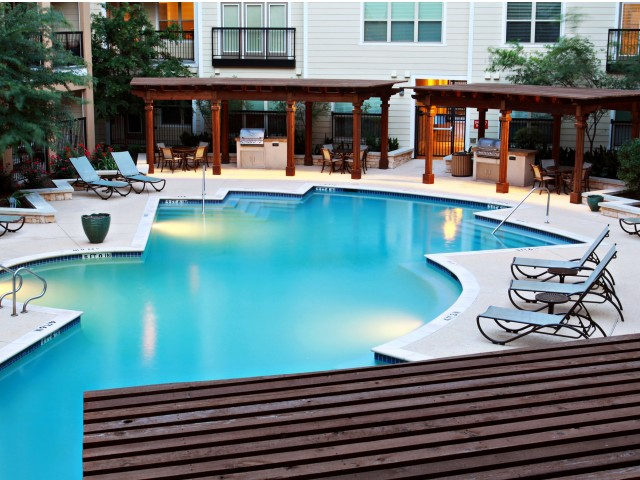 Image of Resort style swimming pool for District at SoCo
