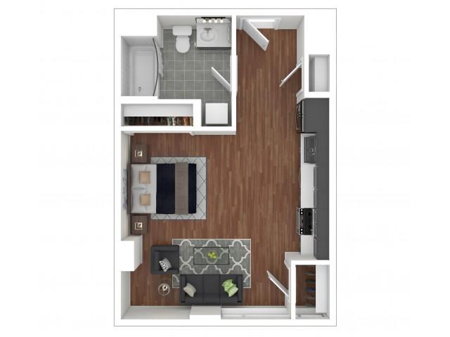 Studio Apartment S-B