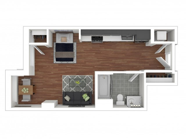 Studio Apartment S-D.1