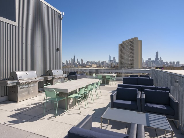 Rooftop Deck with Grills