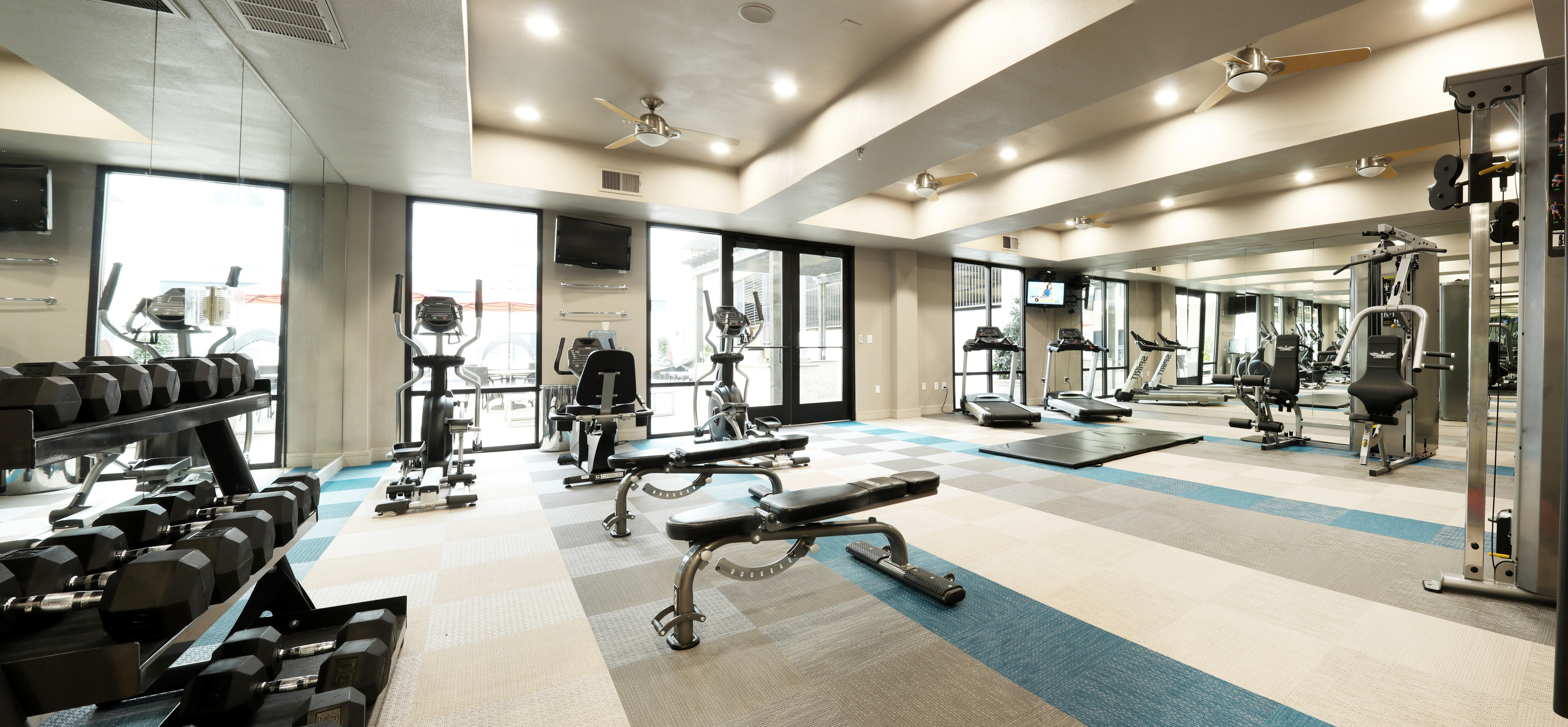 Image of State-of-the-Art Fitness Center for Lennox West Village