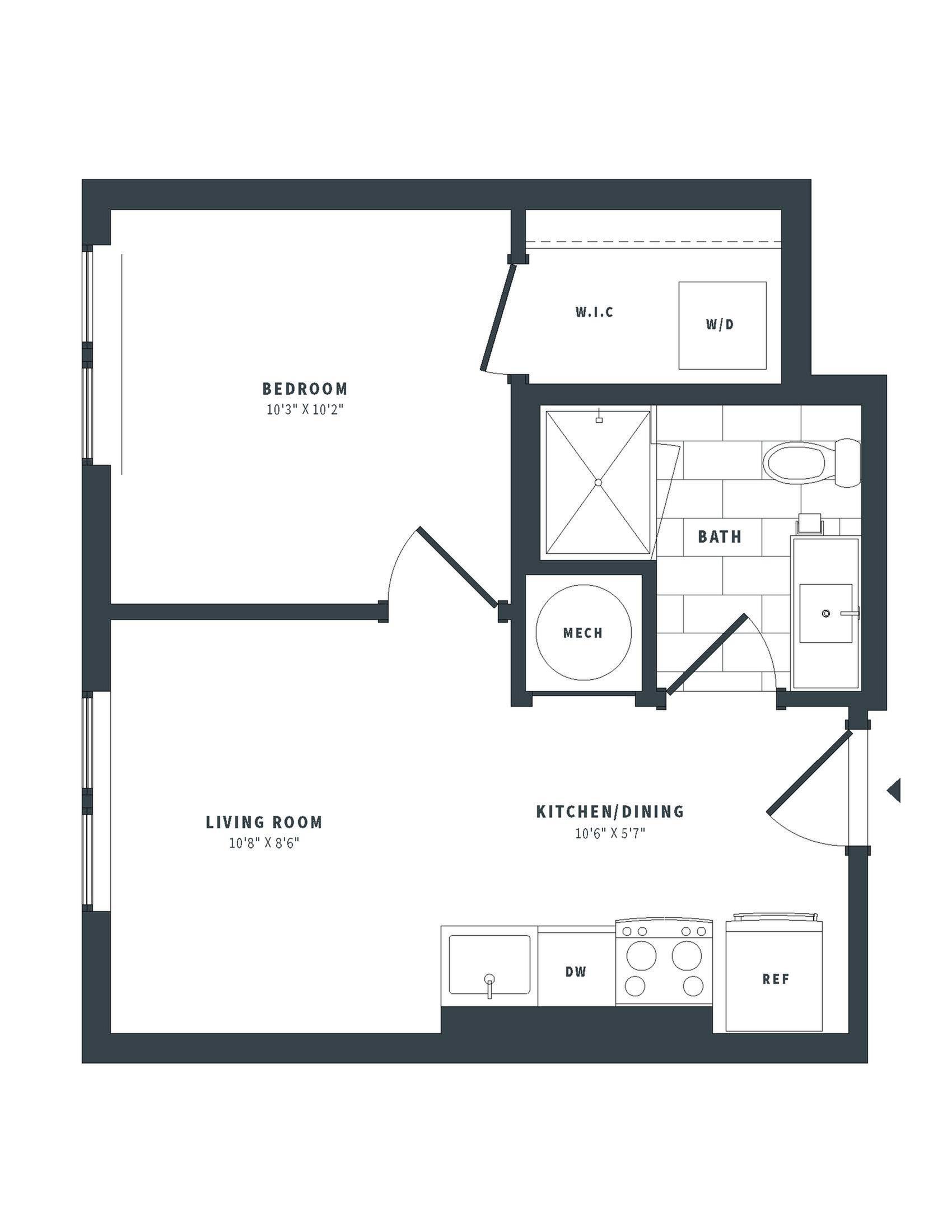 floorplan image of 405