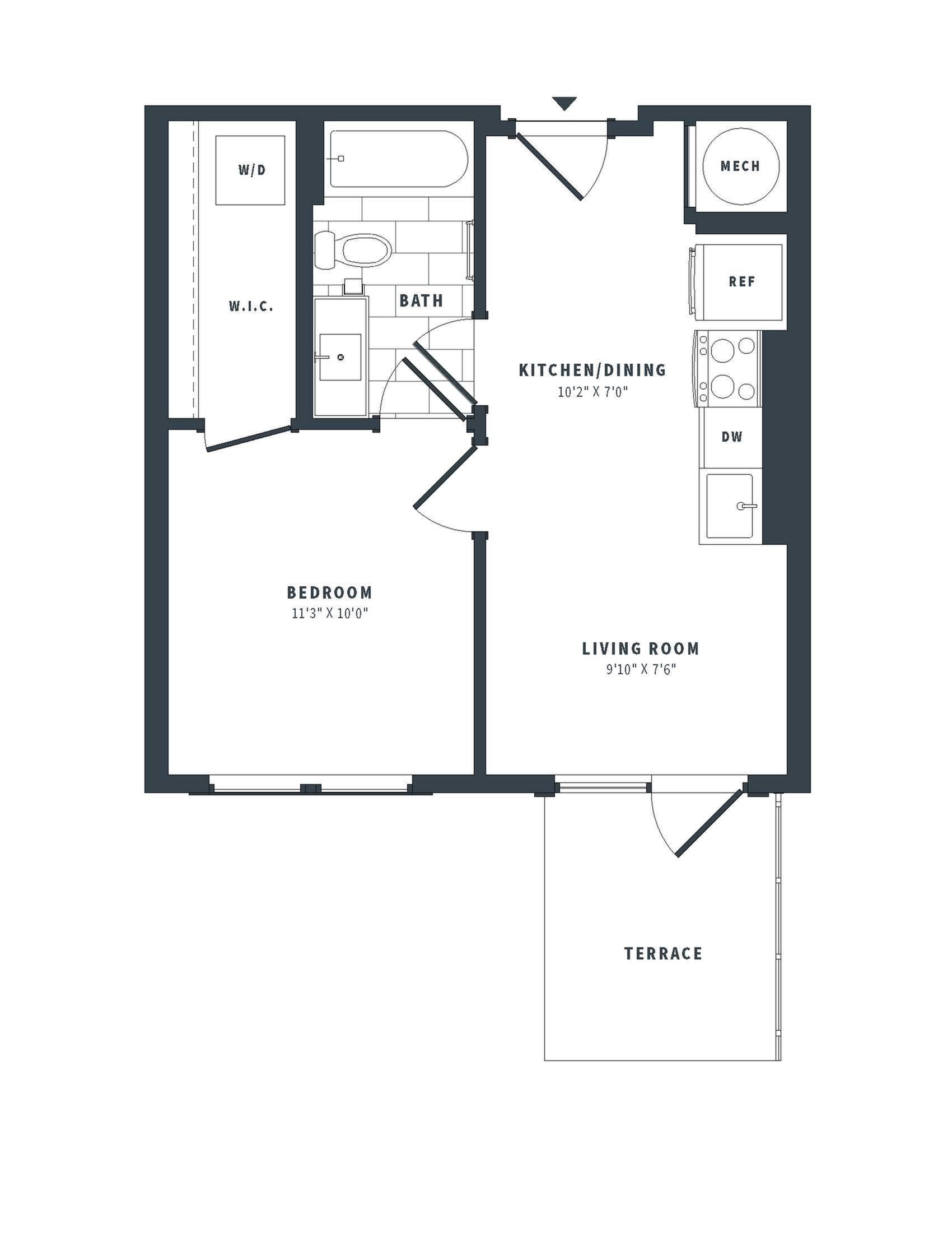 floorplan image of 542