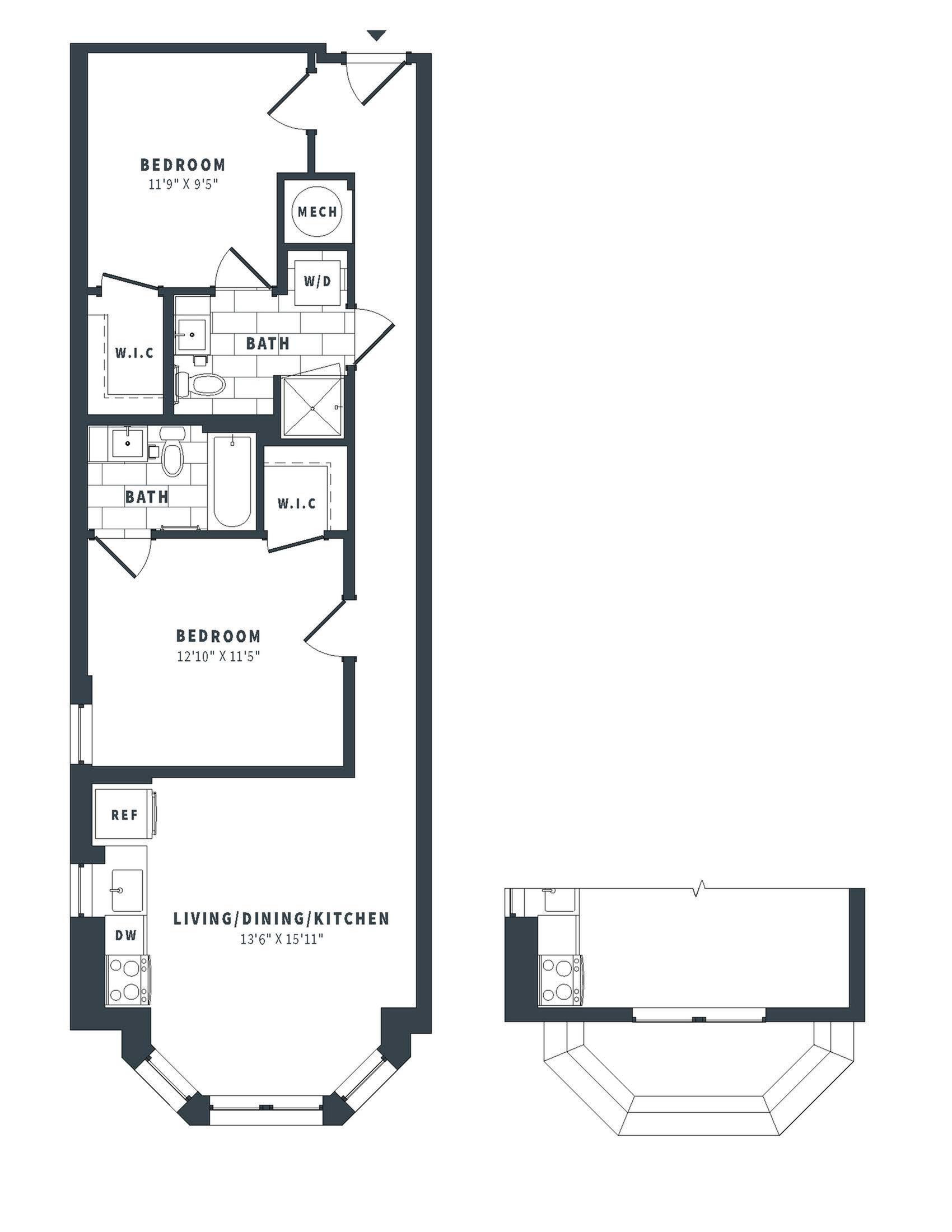 floorplan image of 242