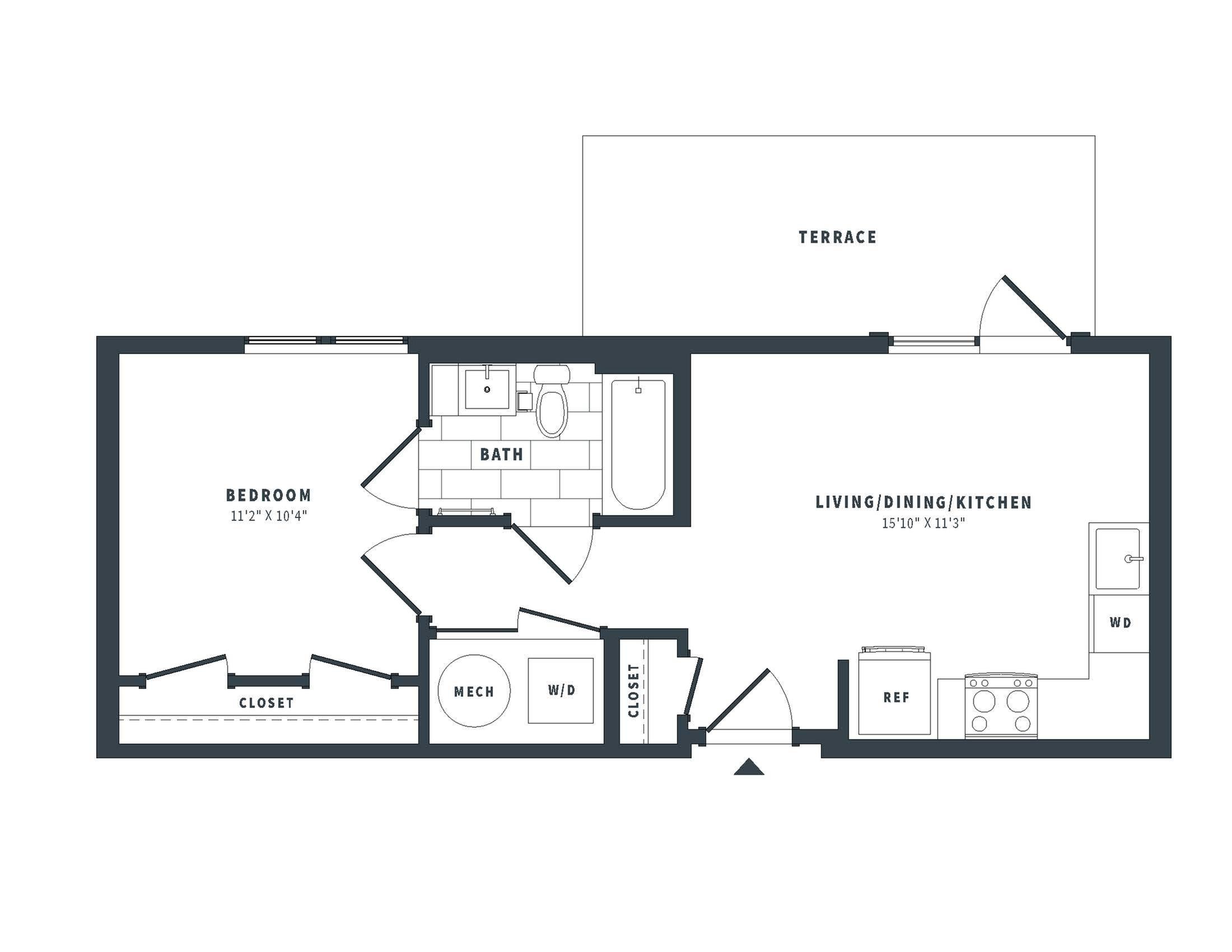 floorplan image of PH-6