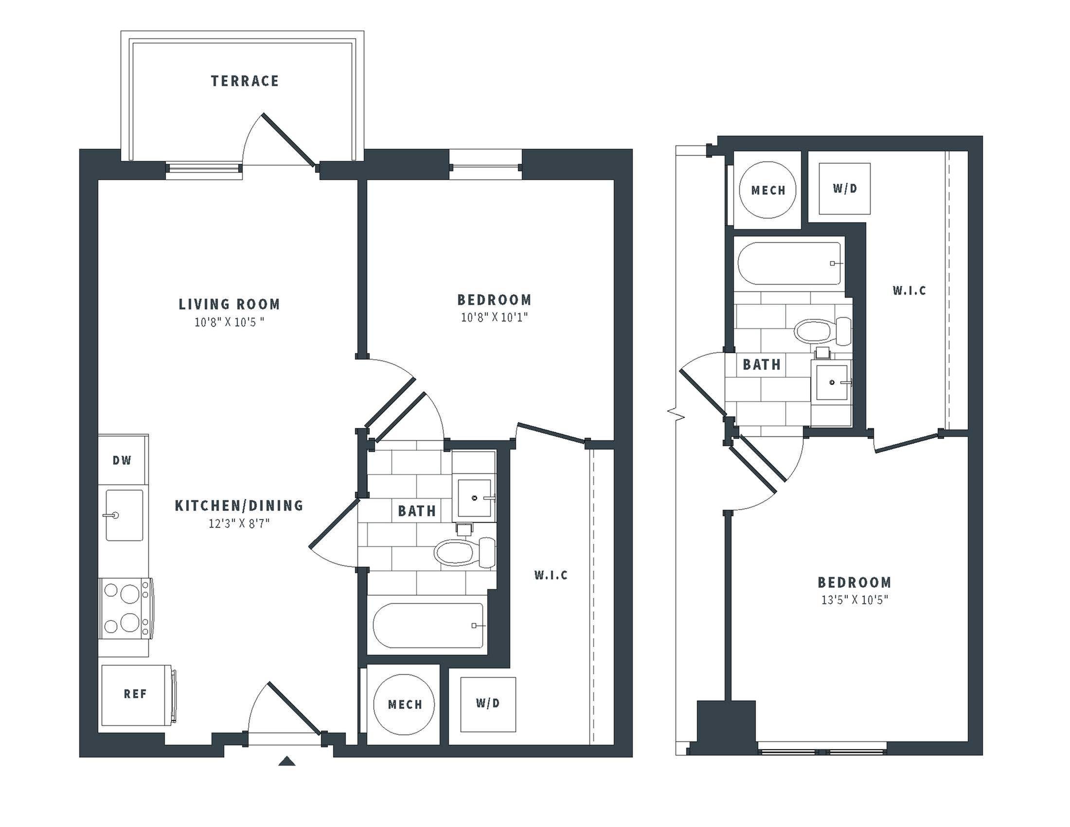 floorplan image of 158