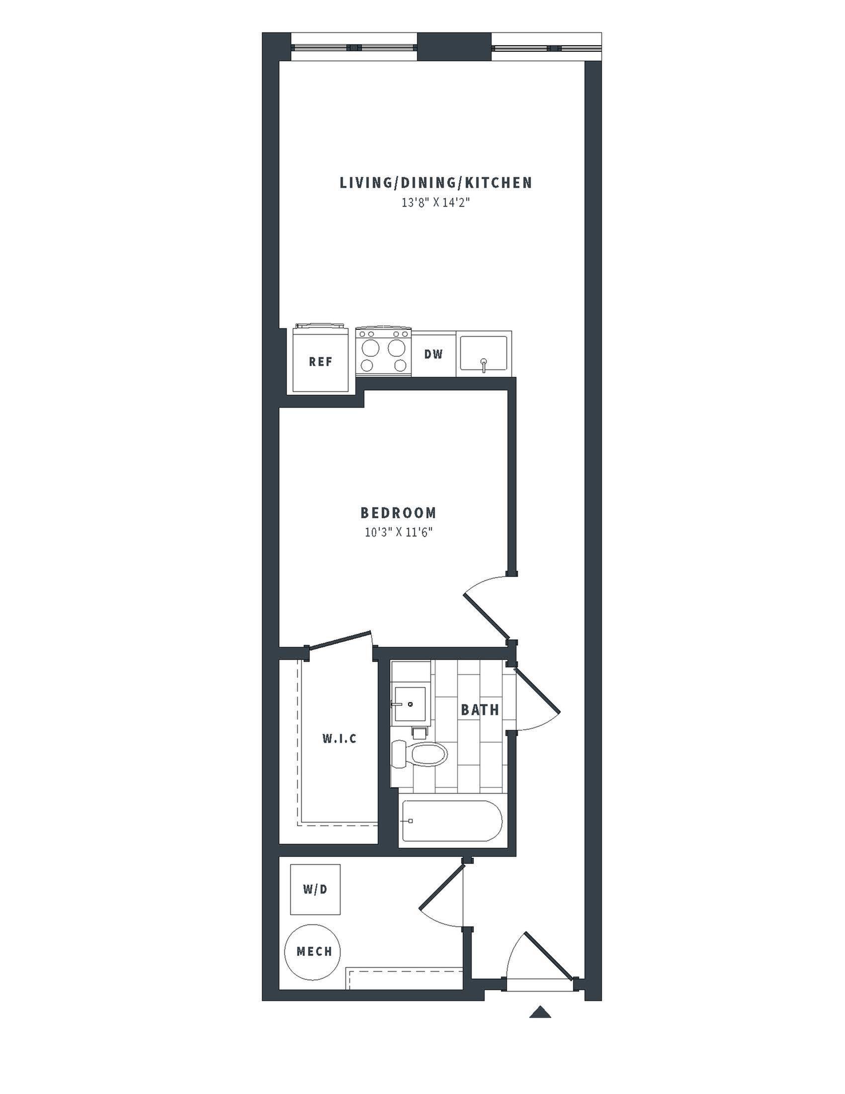 floorplan image of 407