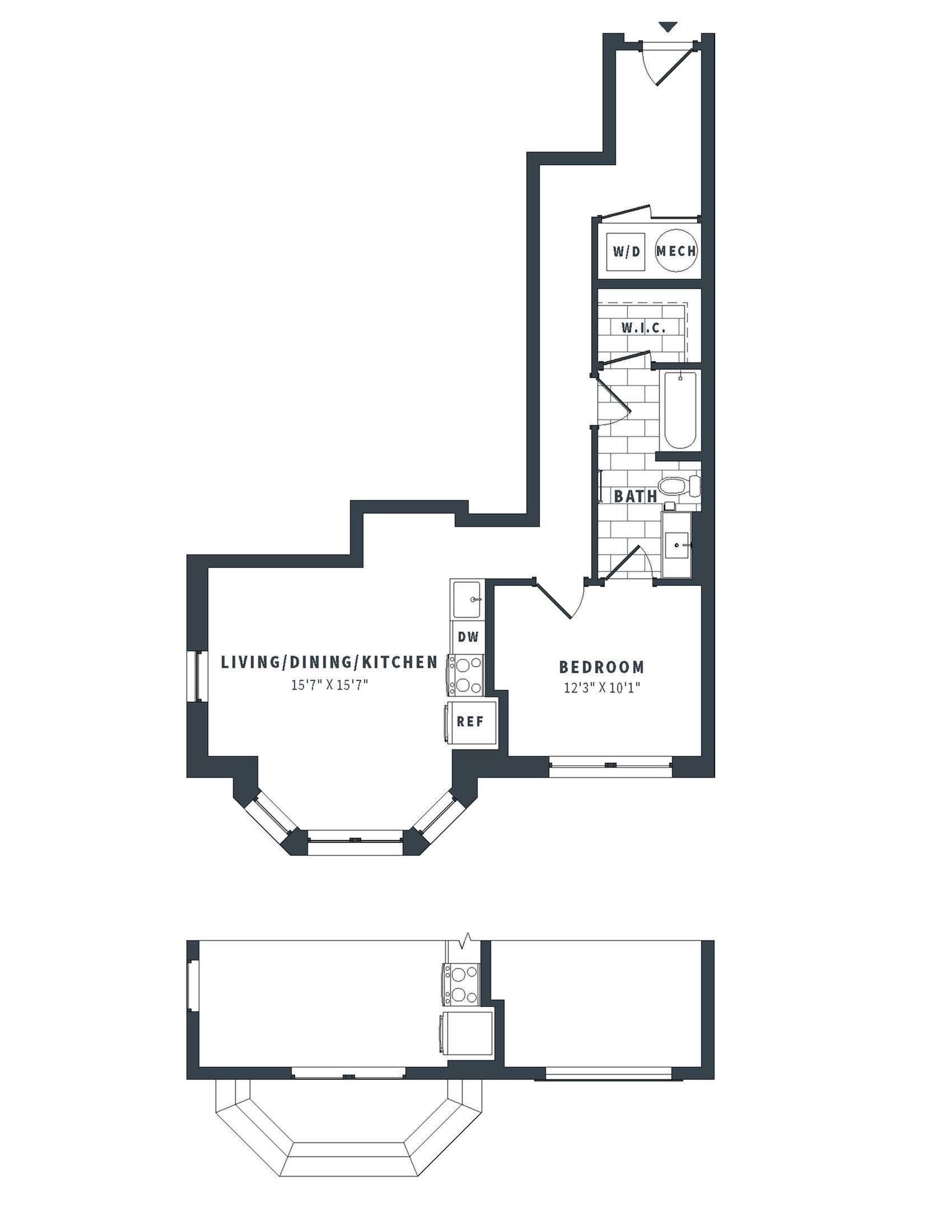 floorplan image of 151