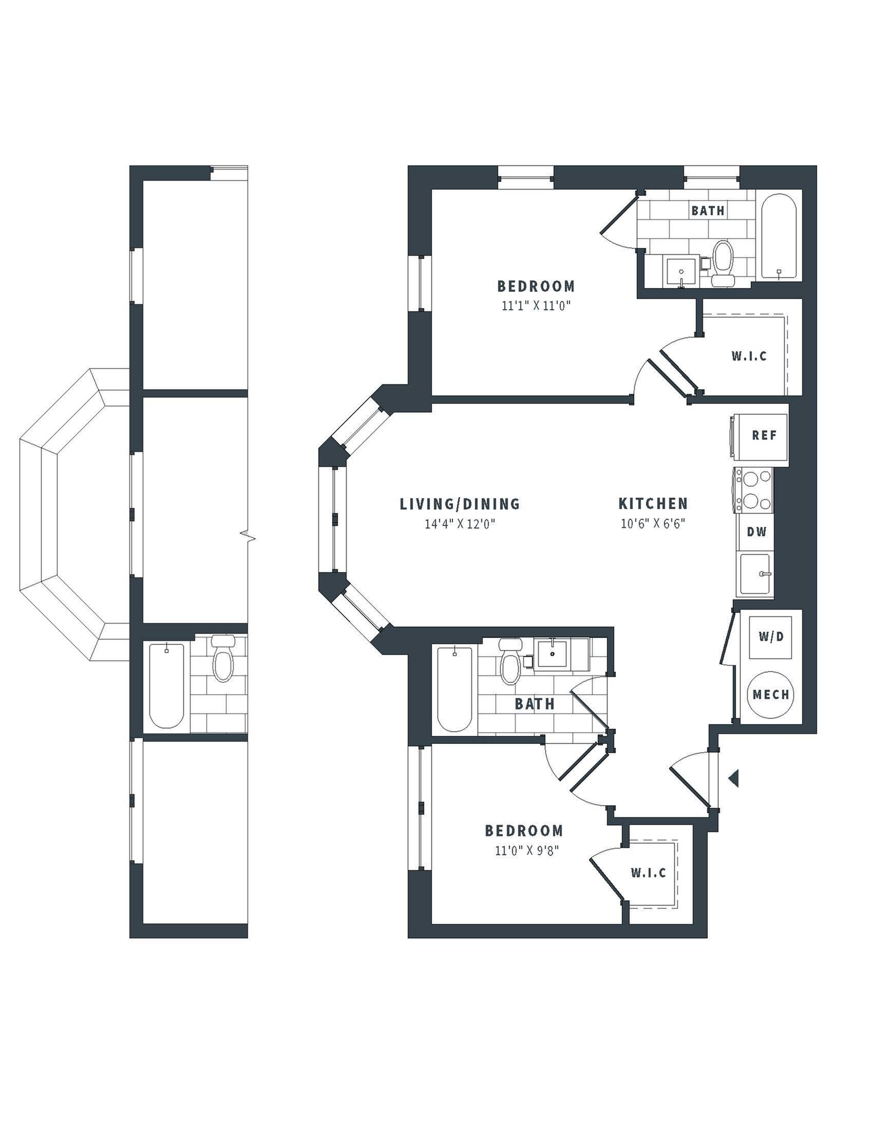 floorplan image of 153