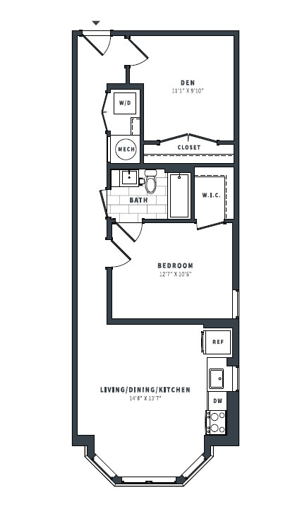 floorplan image of 345