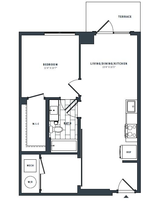 floorplan image of 234