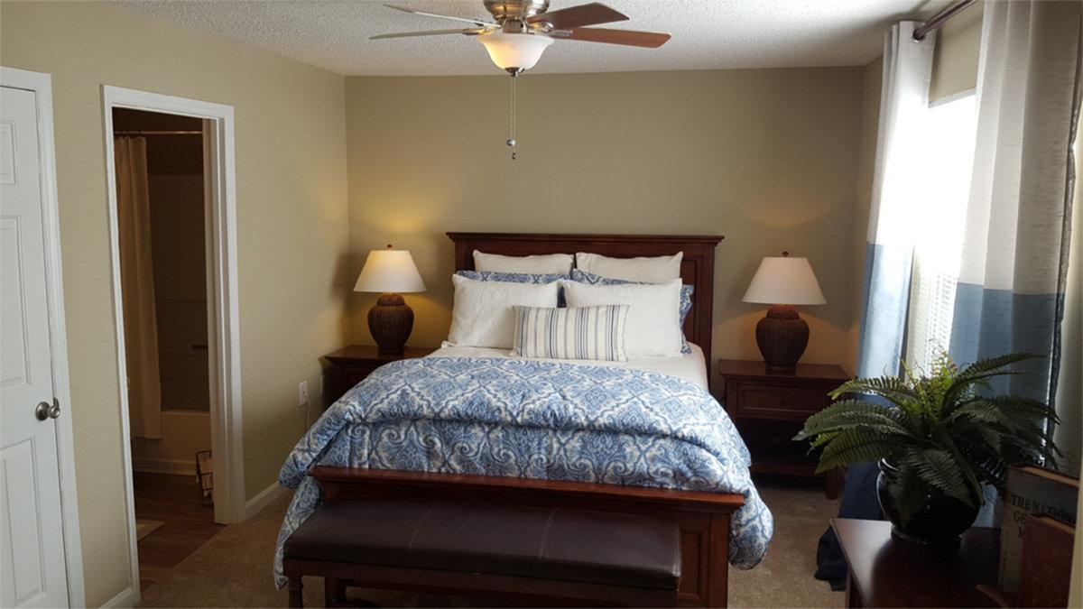 Carnegie - Master Bedroom